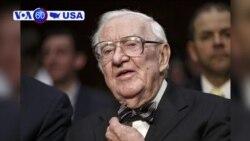VOA60 America - Former Supreme Court Justice John Paul Stevens Dies at 99