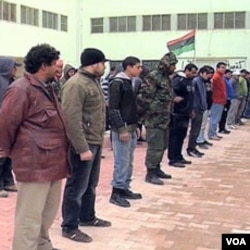 Regrutiranje pobunjenika u Libiji
