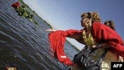 Росія вшановує загиблих затонулого судна «Булгарія»