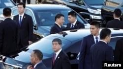 2019年12月18日,中國國家主席習近平抵達澳門,保安措施空前嚴密。