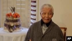 Nelson Mandela, 18 juillet 2012
