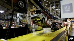 Pabrik General Motors di Kansas City, Kansas (foto: dok). Ekonomi AS tumbuh 3,9 persen selama kuartal ketiga tahun ini.