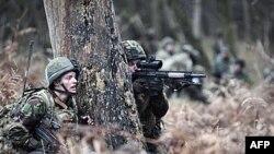 Fshati i simuluar afgan për stërvitjen e ushtrisë britanike