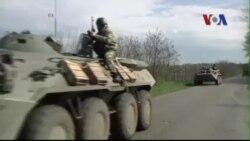 Ukraine nói chiếm lại được tòa thị chính thành phố miền đông