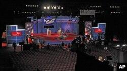 Подготовка к дебатам. Денвер, Колорадо