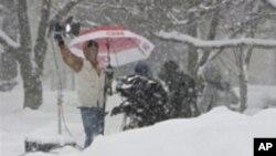 Nastavak 'Snowmageddona' - Istočna obala SAD ponovno zametena snijegom, drugi put u tjedan dana