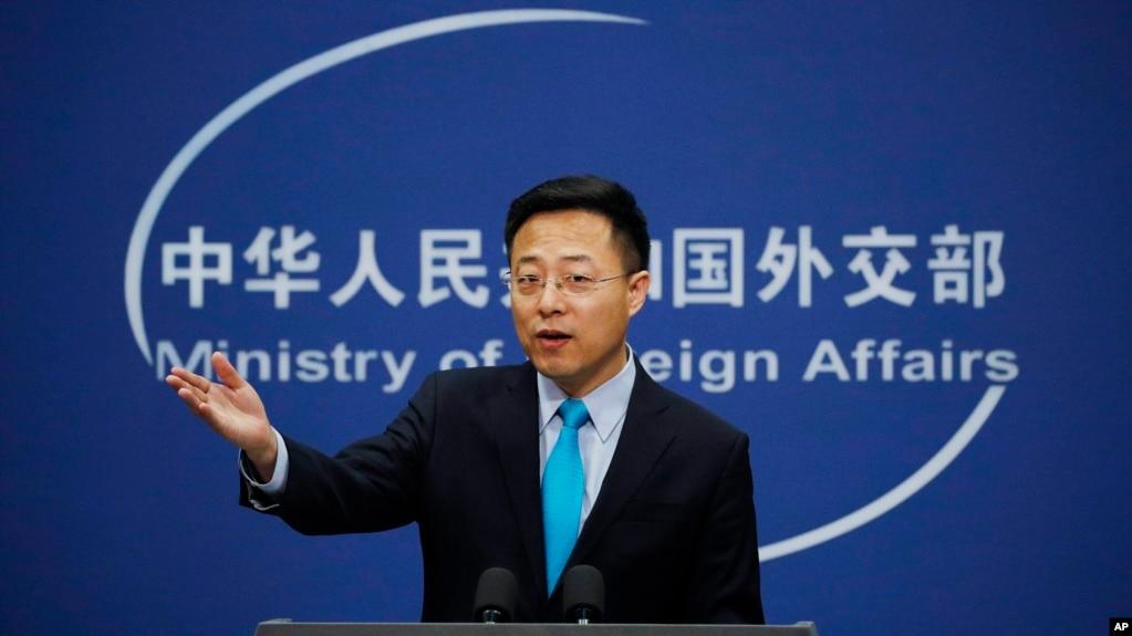 Официальный представитель Министерства иностранных дел Китая Чжао Лицзянь
