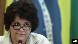 Menteri Lingkungan Brazil, Izabella Teixeira (Foto: dok).