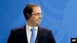 Le Premier ministre tunisien Youssef Chahed, 14 février 2017.