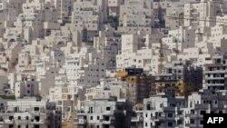 Zgrade u novom naselju u kvartu Har Homa u Jerusalimu