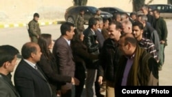 U.S. Presidential Envoy to Anti-Islamic State Coalition Brett McGurk arrived in Kobani over the weekend, officials said Feb. 1, 2016. (Facebook Photo Courtesy of Kurdish official Aldar Khalil)