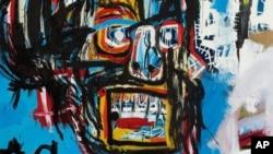 نقاشی «بی نام» اثر ژان میشل باسکیات 1982