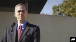 7月30日抵港履新的夏千福總領事(Clifford Hart)(2011年10月24日資料照片)