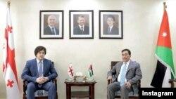 ირაკლი კობახიძისა და ატეფ ტარავნეს შეხვედრა ამანში, 2018