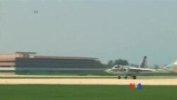 北韓航空節展示軍民兩用飛機