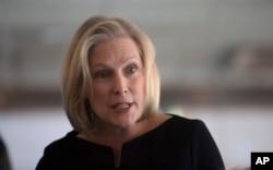 Senator Kirsten Gillibrand, a New York Democrat.