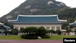 한국 청와대 건물 (자료사진)