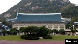 한국 청와대. (자료사진)