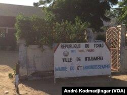 La commune du 6ème arrondissement de la ville de N'Djamena, au Tchad, le 21 octobre 2018. (VOA/André Kodmadjingar)
