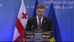 Ukraine ký thỏa thuận mậu dịch tự do với Liên minh châu Âu