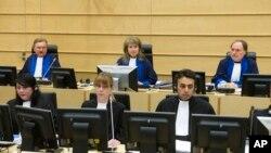 네덜란드 헤이그의 국제형사재판소 ICC. (자료사진)