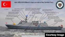 معاہدے کے تحت ترکی پاکستان کو چار بحری جنگی جہاز فروخت کرے گا۔ (فائل فوٹو)