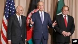 نشست سه جانبه میان رهبران افغانستان، امریکا و پاکستان