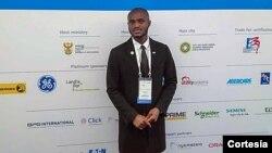 Rabby Gelson Ndombassy, director-geral da Comissão da União Africana da Juventude - Capítulo Angola