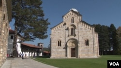 Manastir Visoki Dečani (Foto: VOA)