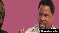 """Le Prophete"" nigérian TB Joshua"
