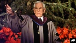 FILE - Rev. Robert H. Schuller.