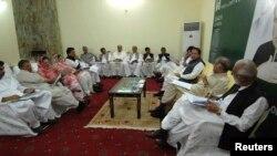 مسلم لیگ ن کا پارٹی اجلاس (فائل فوٹو)