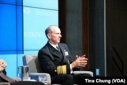 美国海军作战部长格林纳特上将