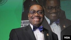 Akinwumi Adesina, presidente do Banco Africano de Desenvolvimento