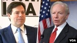 جوزف لیبرمن رئیس هیات مدیره، و مارک والاس مدیرعامل «اتحاد علیه ایران هستهای»