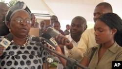 Directora Provincial do Namibe da Reinserção Social Lemba Celso Lopes