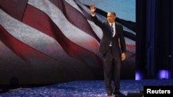 Presiden Barack Obama dinyatakan menang di negara bagian Florida sehingga menambah perolehan suara elektoral menjadi 332 (foto: dok).