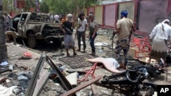 Rezolyutsiya tarafdorlari Riyodni qo'shni Yamanda tinch aholini bombalayotganlikda aybladi.