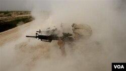 Tentara NATO di medan tempur Afghanistan (foto: dok).