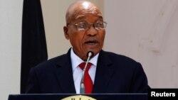 Jacob Zuma, Presidente da África do Sul