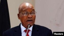 Jacob Zuma, président sud-africain, 11 0ctobre 2016.