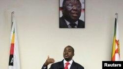 Nelson Chamisa, prezidan pwovizwa Mouvman pou Chanjman Demokratik,