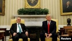 Tổng thống Donald Trump gặp gỡ Thủ tướng Iraq Haider al-Abadi, 20/3/2017.