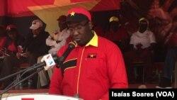 Caetano Tita, administrador municipal de Cacusa, Malanje, Angola