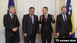 Stoltenberg razgovarao sa članovima Predsjedništva prošlog mjeseca