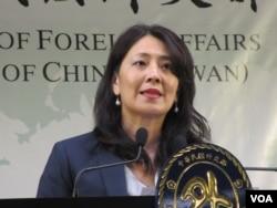 资料照:台湾外交部发言人欧江安