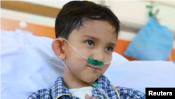 کودکان افغان مبتلا به سوراخ قلب در هند و چین نیز تداوی میشوند