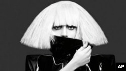 """Lady Gaga的""""The Fame Monster""""CD封面"""