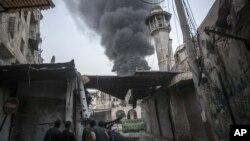 Алеппо, Сирия. Ноябрь 2012 г.