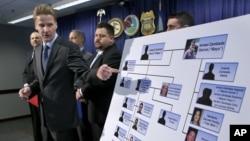 El fiscal Zachary T. Fardon haciendo referencia a los miembros del cartel de Sinaloa.